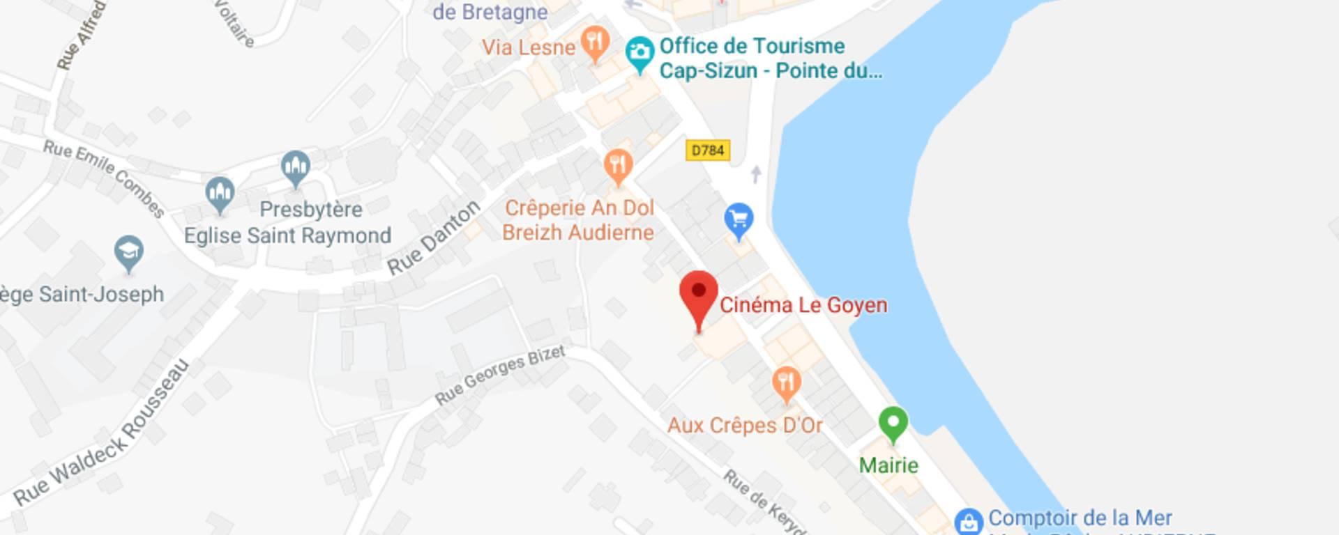 Carte © Office de tourisme Cap-Sizun Pointe du raz