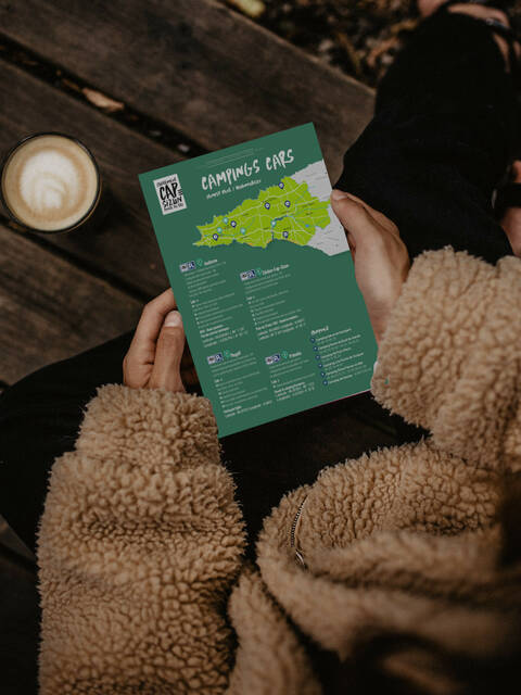 Carte des aires et services campings-cars